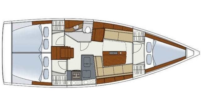 Segelboot mieten in Athen - Hanse Hanse 345