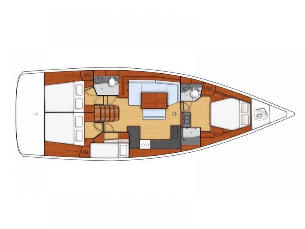 Segelboot mieten in Split - Bénéteau Beneteau Oceanis 48