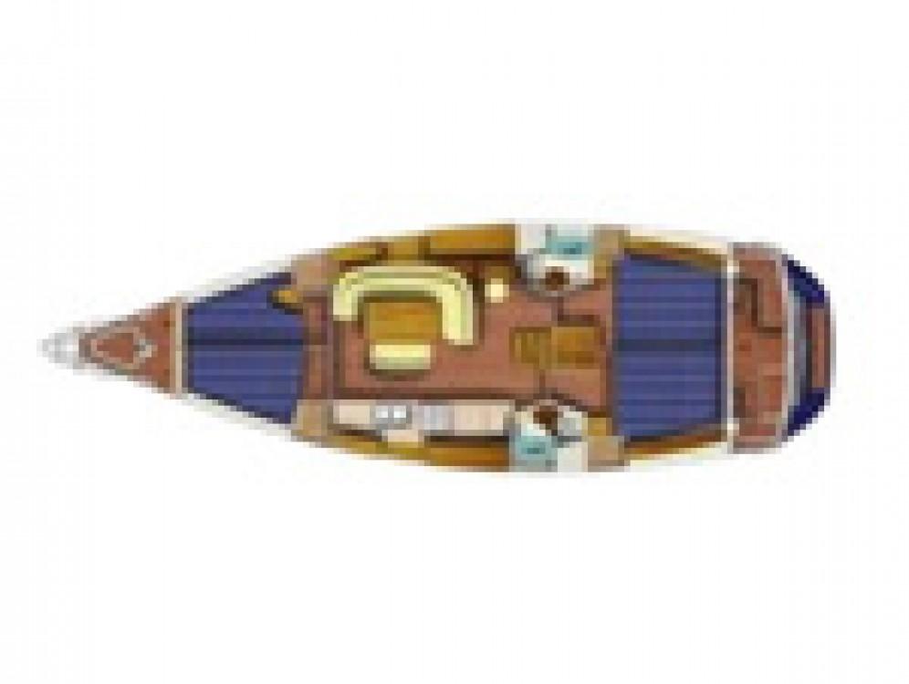 Jeanneau Sun Odyssey 45 08 zwischen Privatpersonen und professionellem Anbieter Castiglioncello
