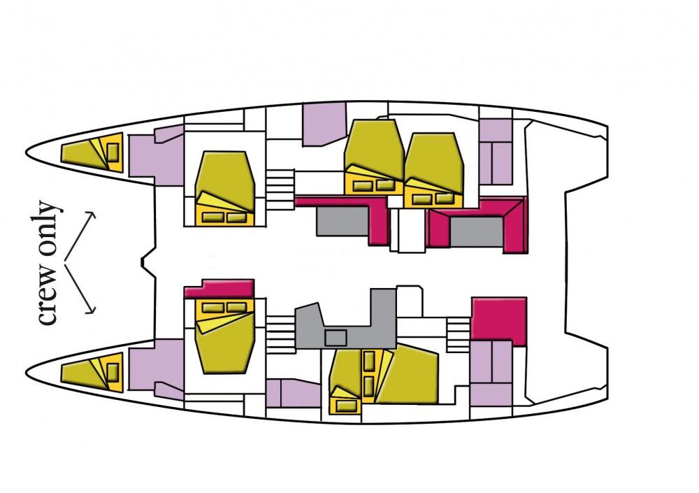 Katamaran mit oder ohne Skipper Lagoon mieten in Road Town