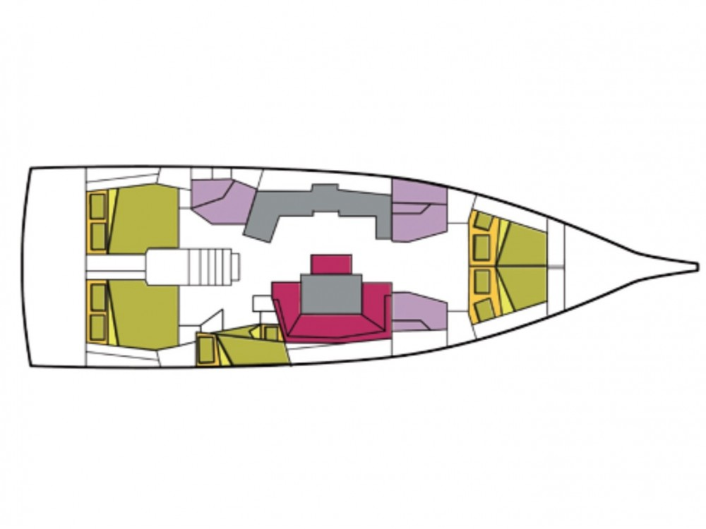 Bootsverleih Cala dei Sardi günstig Oceanis 46.1 - 5 cab.