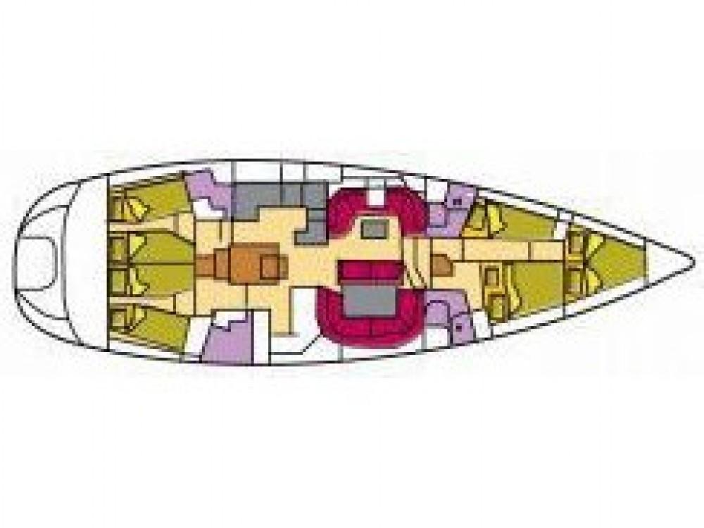 Ein Jeanneau Sun Odyssey 54 DS mieten in Olbia