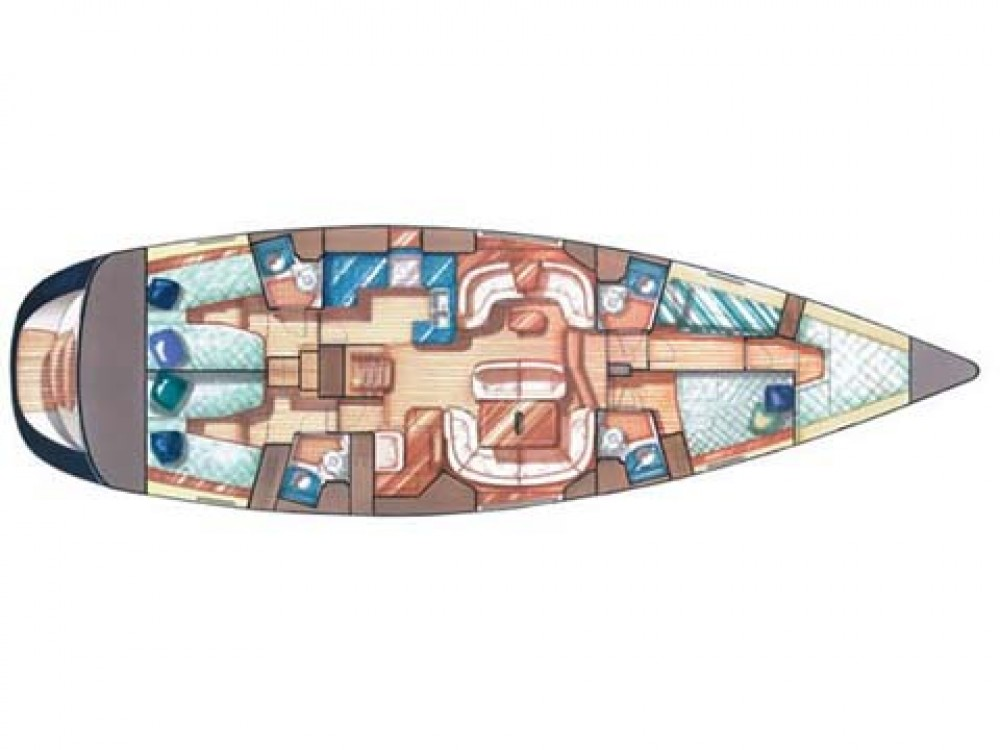 Segelboot mieten in Olbia - Jeanneau Sun Odyssey 54 DS