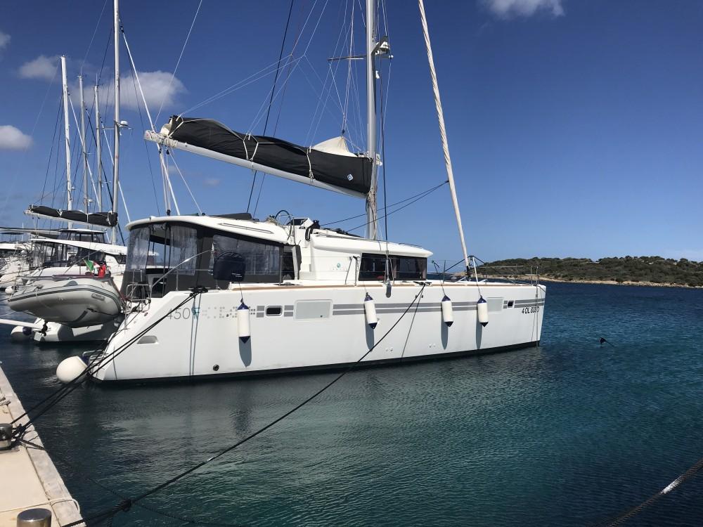 Bootsverleih Olbia günstig Lagoon 450F