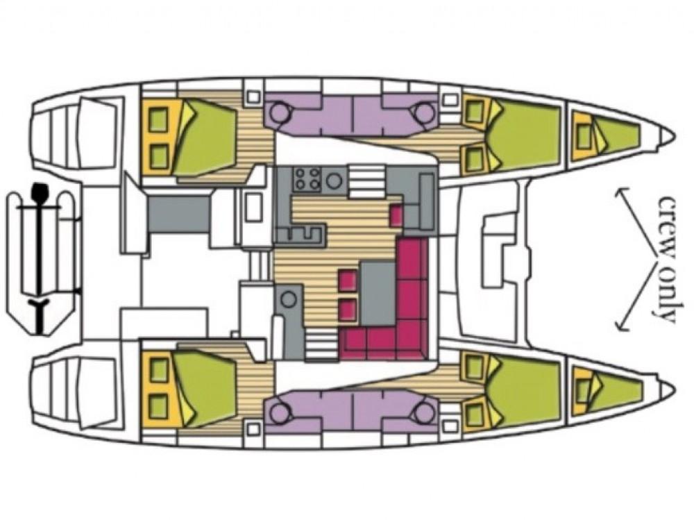 Bootsverleih Lagoon Lagoon 450F Olbia Samboat