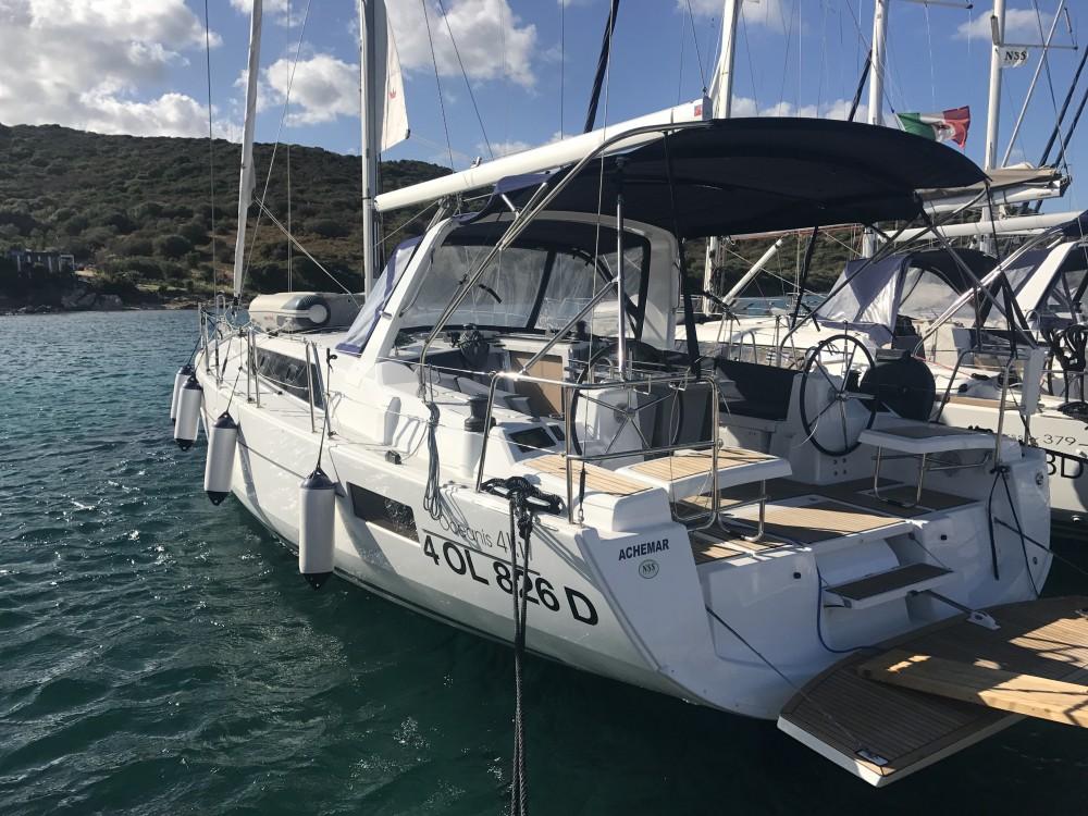 Bootsverleih Cala dei Sardi günstig Oceanis 41.1