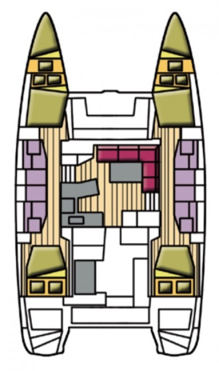 Yacht-Charter in Cala dei Sardi - Lagoon Lagoon 42 auf SamBoat