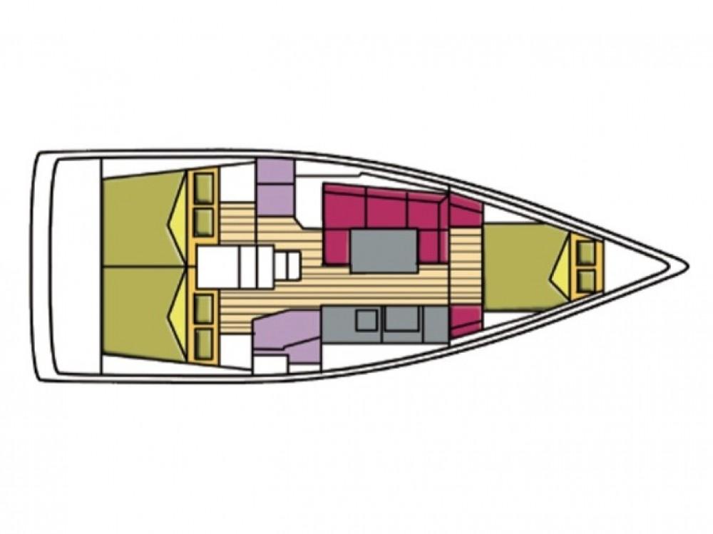 Bootsverleih Olbia günstig Oceanis 38