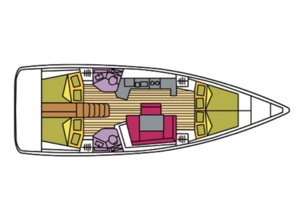 Segelboot mieten in Olbia - Bénéteau Oceanis 45