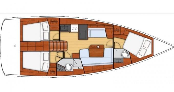 Yacht-Charter in Zadar - Bénéteau Oceanis 41.1 auf SamBoat