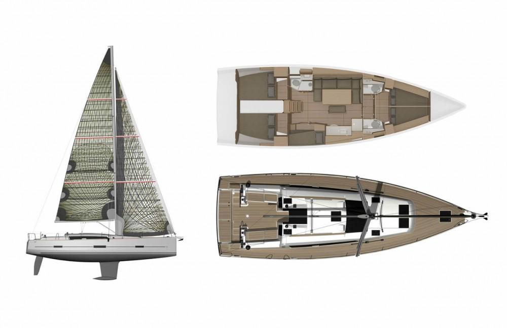 Segelboot mieten in D-Marin Borik zum besten Preis