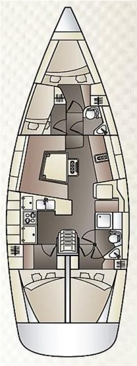 Segelboot mieten in Kroatien - Elan Elan 444 Impression