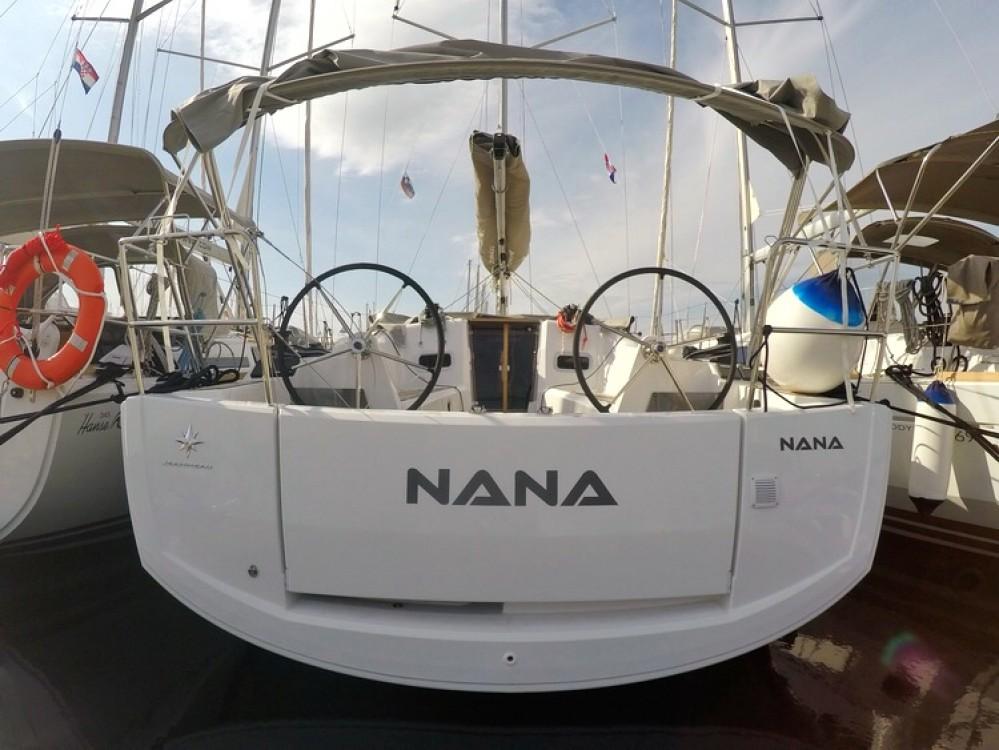 Jeanneau Sun Odyssey 349 zwischen Privatpersonen und professionellem Anbieter Kroatien