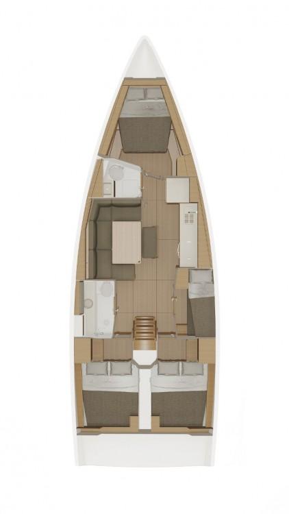 Bootsverleih Dufour Dufour 430 GL  Samboat