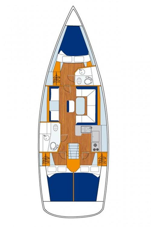 Bootsverleih Kroatien günstig Sun Odyssey 409 Performance