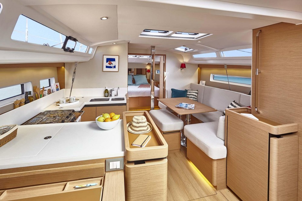 Bootsverleih Kroatien günstig Sun Odyssey 440
