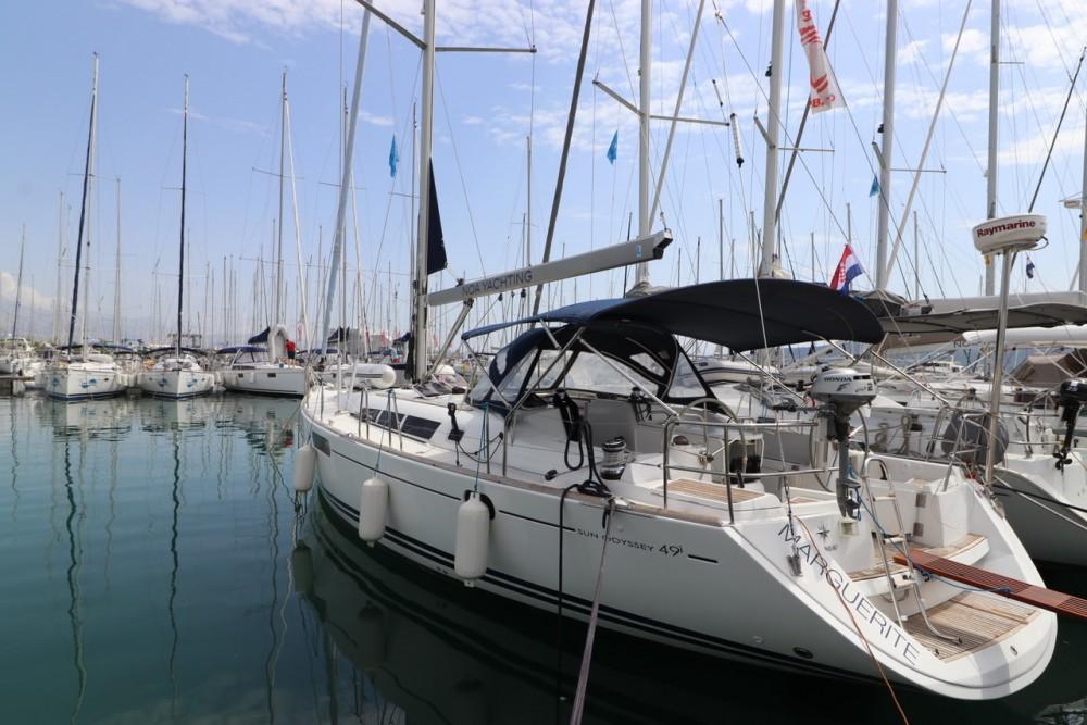 Yacht-Charter in Kroatien - Jeanneau Sun Odyssey 49i auf SamBoat