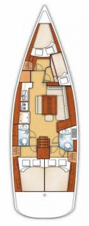 Segelboot mieten in Fethiye - Bénéteau Oceanis 43