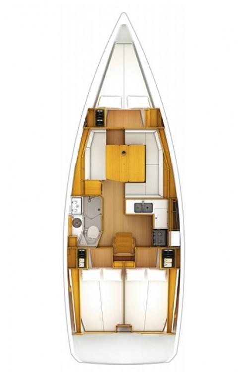 Yacht-Charter in Corfù - Jeanneau Sun Odyssey 389 auf SamBoat