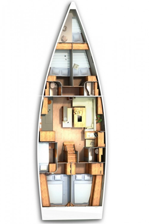 Yacht-Charter in Seget Donji - Hanse Hanse 505 - 5 + 1 cab. auf SamBoat