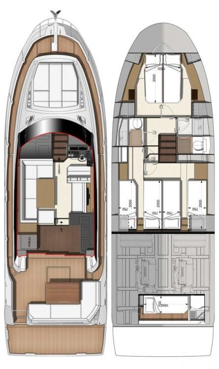 Bootsverleih Jeanneau Prestige 460 Fly Zadar Samboat