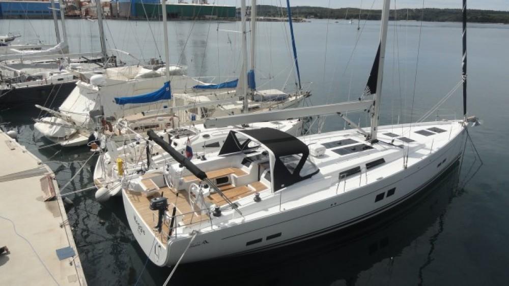 Segelboot mieten in Pula - Hanse Hanse 575