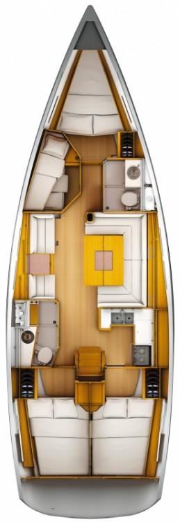 Bootsverleih Sardinien günstig Sun Odyssey 449 Performance