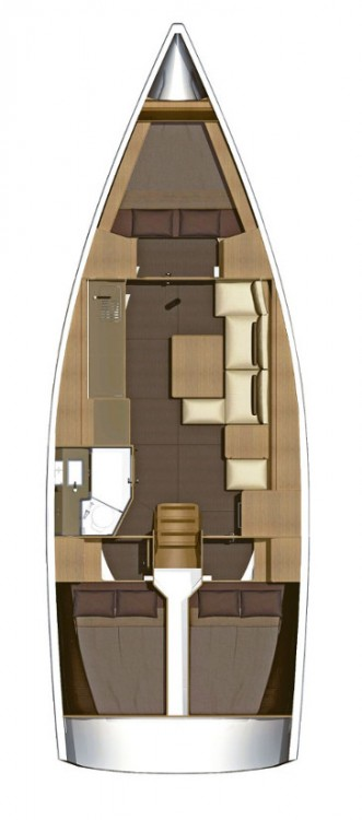Yacht-Charter in Kroatien - Dufour Dufour 382 Grand Large auf SamBoat