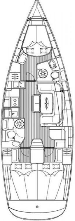 Bavaria Cruiser 39 zwischen Privatpersonen und professionellem Anbieter Split