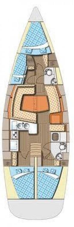 Segelboot mieten in Marina Kaštela - Elan Elan 434