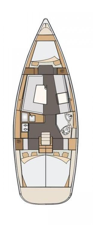 Segelboot mieten in Marina Kaštela - Elan Elan Impression 35