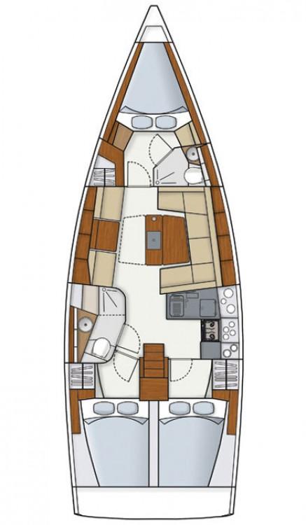 Bootsverleih Hanse Hanse 415 Kroatien Samboat