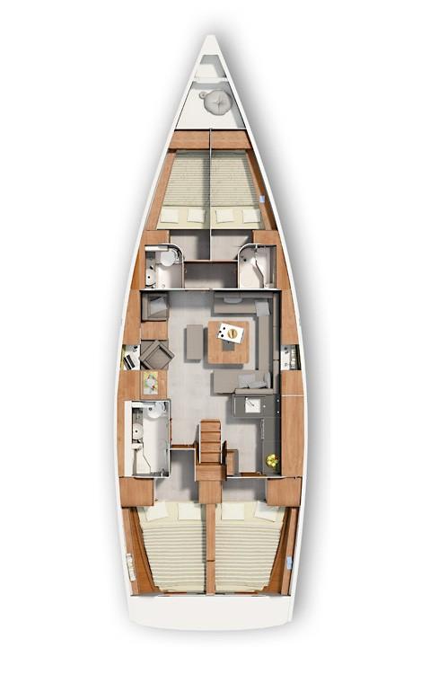 Yacht-Charter in  - Hanse Hanse 455 auf SamBoat