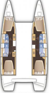 Vermietung Katamaran Lagoon mit Führerschein