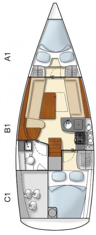 Yacht-Charter in Kroatien - Hanse Hanse 325 auf SamBoat
