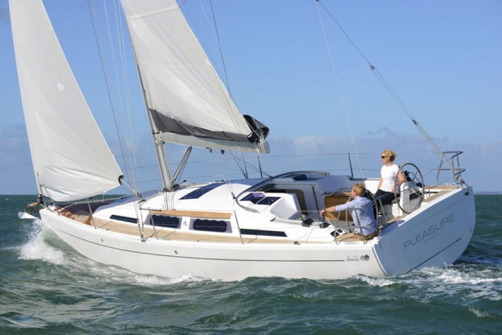 Segelboot mit oder ohne Skipper Hanse mieten in