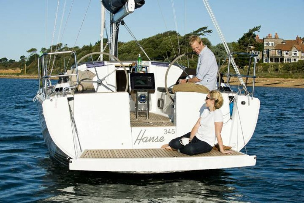 Segelboot mieten in  - Hanse Hanse 345