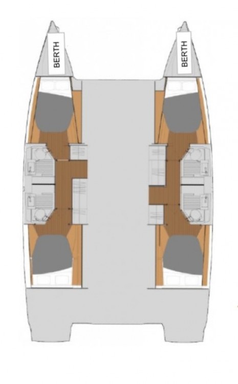 Yacht-Charter in Tortola - Fountaine Pajot Fountaine Pajot Astrea 42 - 4 + 2 cab. auf SamBoat