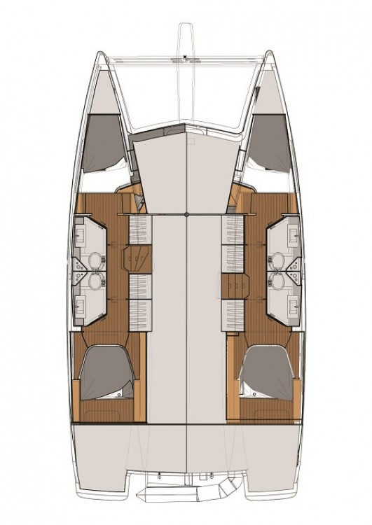 Yacht-Charter in Göcek - Fountaine Pajot Fountaine Pajot Lucia 40 auf SamBoat
