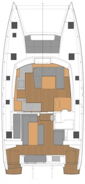 Yacht-Charter in Athen - Fountaine Pajot Fountaine Pajot New 45 - 4 + 2 cab. auf SamBoat