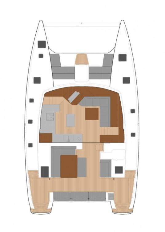 Bootsverleih Tortola günstig Fountaine Pajot Saba 50 - 6 + 2 cab.