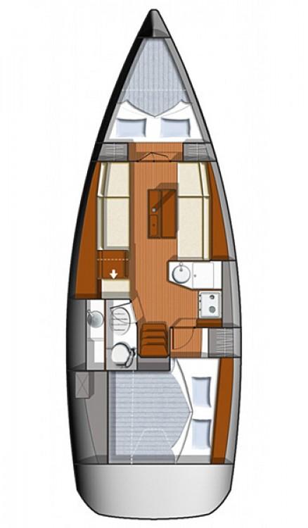 Segelboot mit oder ohne Skipper Jeanneau mieten in Primošten