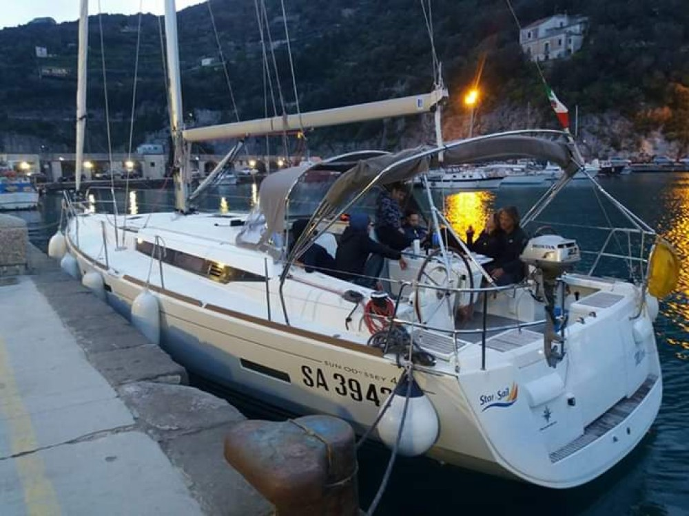 Bootsverleih Jeanneau Sun Odyssey 439 Kampanien Samboat