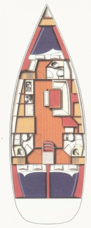 Yacht-Charter in Kampanien - Bénéteau Cyclades 43.3 auf SamBoat