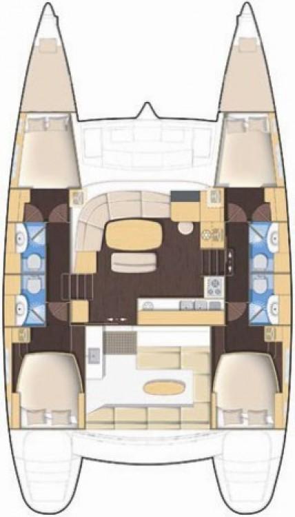 Yacht-Charter in Kampanien - Lagoon Lagoon 440 auf SamBoat