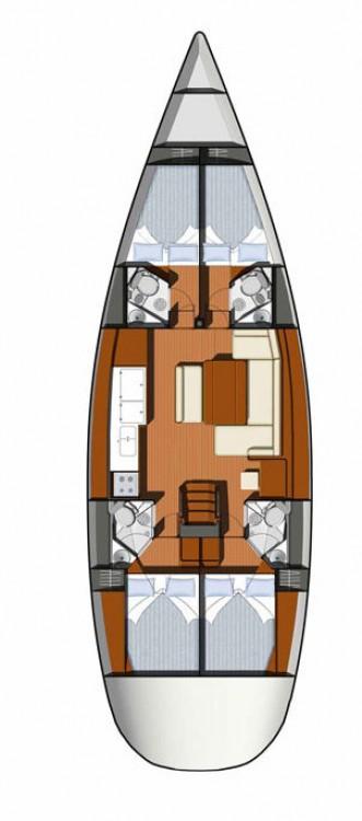 Bootsverleih Jeanneau Sun Odyssey 49i Kampanien Samboat
