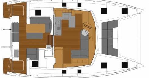 Yacht-Charter in Marmaris - Fountaine Pajot Astrea 42 auf SamBoat
