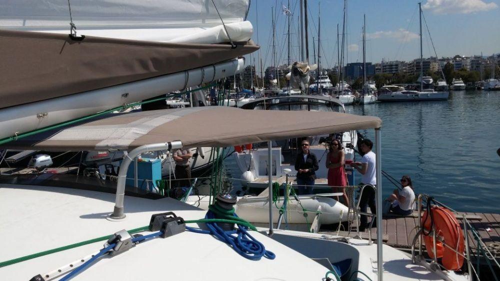 Fountaine Pajot Athena 38 zwischen Privatpersonen und professionellem Anbieter Peloponnese