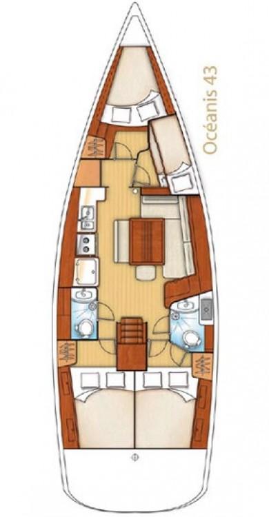 Bootsverleih Bénéteau Oceanis 43 Peloponnese Samboat