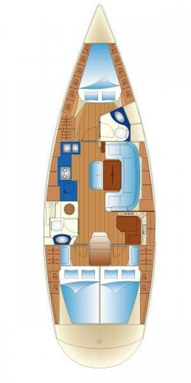 Segelboot mieten in Myconos - Bavaria Bavaria 43 Cruiser